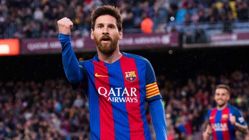 Doblete en una cómoda goleada - Así fue el partido de Messi contra Osasuna