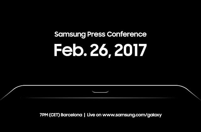 Samsung will unveil something at MWC on February 26th