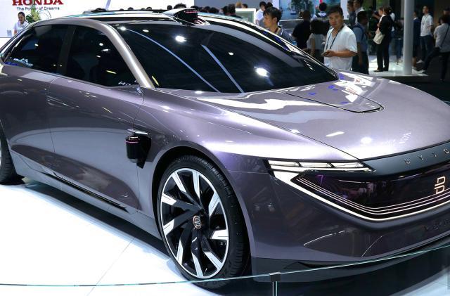 Byton's second EV is an autonomous sedan due in 2021