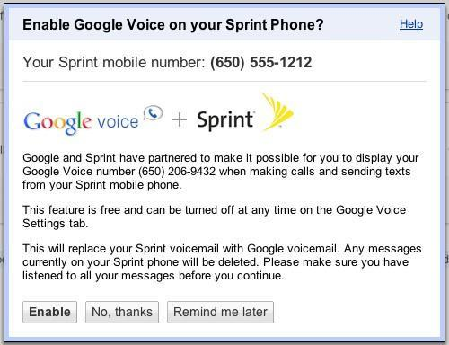 Sprint, Google Voice getting tight integration, will let you use your number without porting it