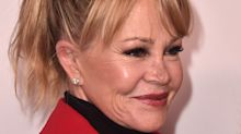 Melanie Griffith poses in black bikini at age 61: '60 is the new 40'