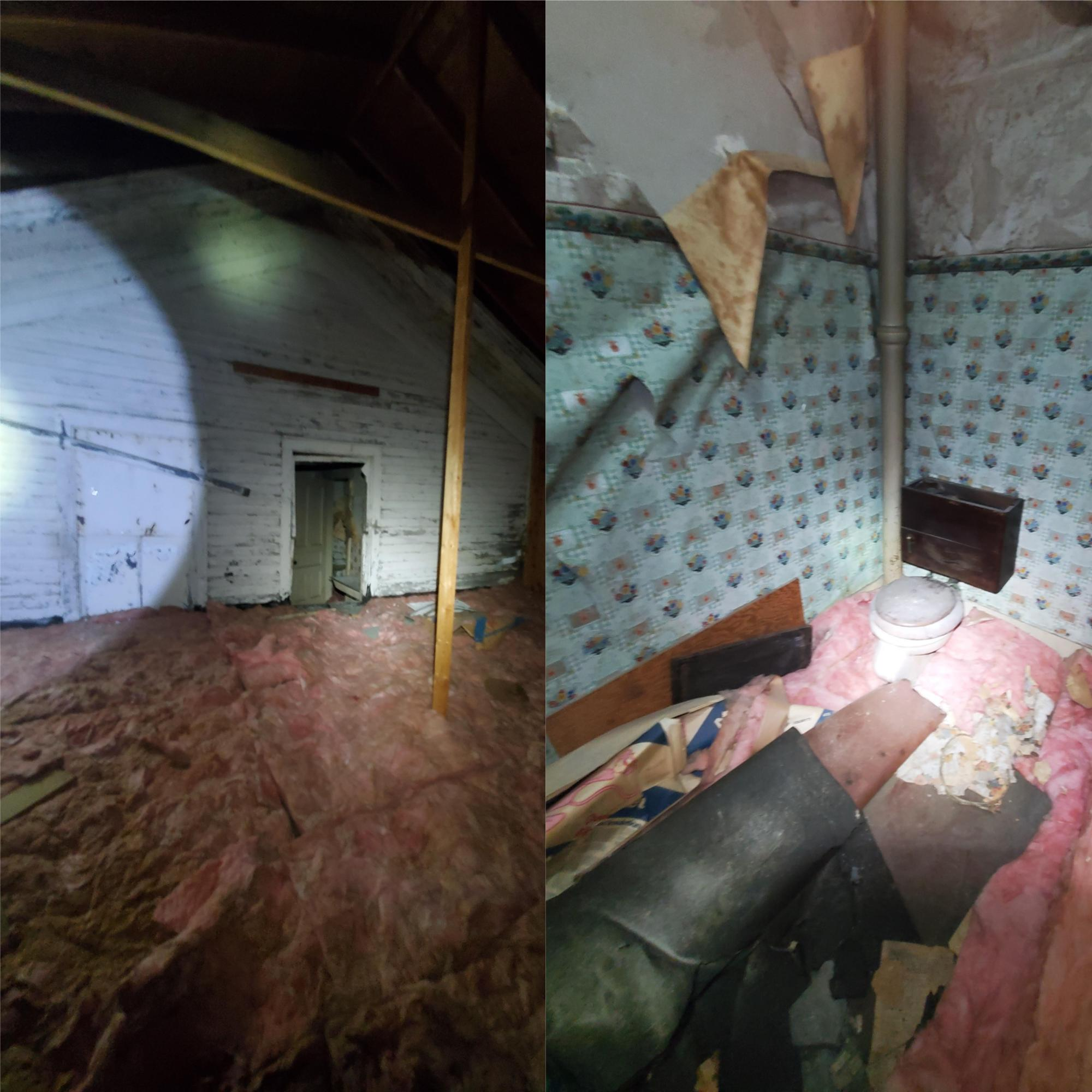 Man Discovers 'creepy' Hidden Rooms In Abandoned Attic