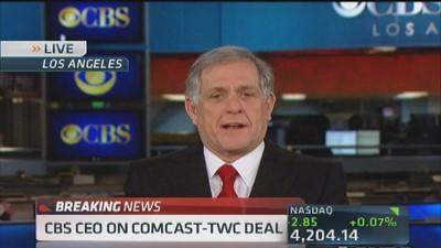 Leslie Moonves: Surprised by Comcast deal