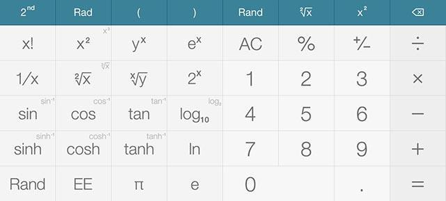 Calc One: A capable, free and smart iPad calculator app