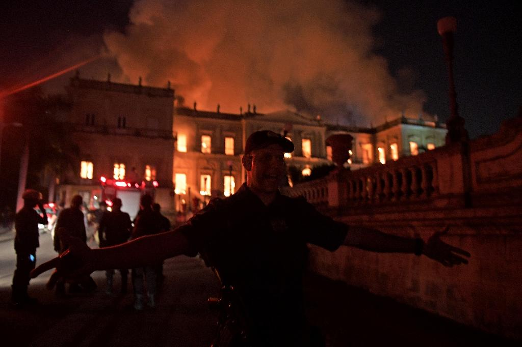 Brazil's National Museum, ravaged by a massive fire, is Latin America's largest natural history and anthropology museum