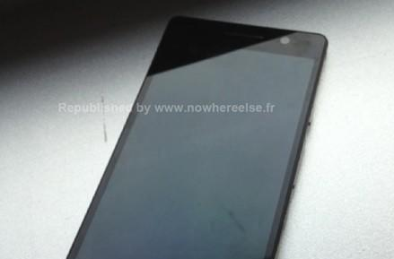 Huawei P6-U06 super slim smartphone poses for more leaked pictures, this time in black
