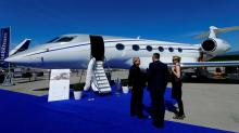 Money flies across tarmac as business jet show kicks off