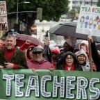 Latest: California governor urges end to LA teacher strike