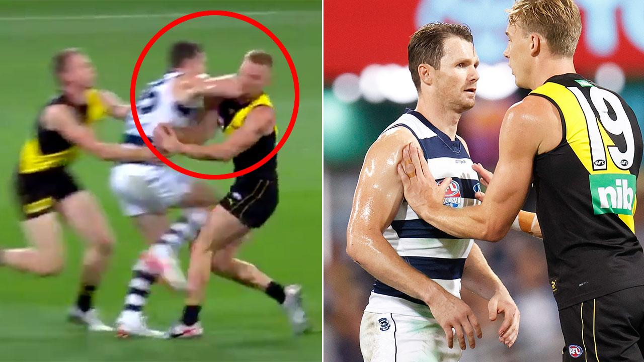 'Absolutely disgusting': Fans accuse Geelong ace of 'dirty' act