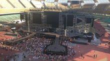 Bari, per Ligabue stadio San Nicola semivuoto: disagi per i fan