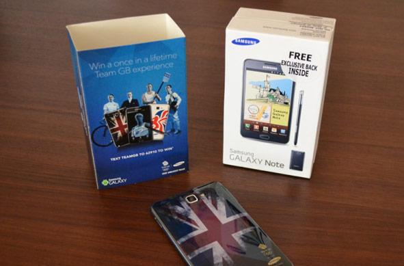 O2 UK offers Samsung Galaxy Note and Galaxy Y in Olympics versions, S Javelin sadly missing