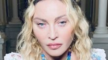 Madonna shares 'resting birthday b***h face' photo as she turns 62