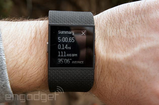 Fitbit's Surge fitness watch will soon track your bike rides