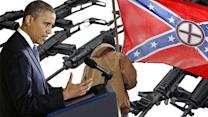 Racist to oppose President Obama's gun control proposals?