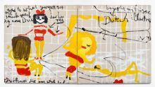 Rose Wylie, Lolita's House, David Zwirner London, review: Few painters are more arrestingly, pleasingly odd
