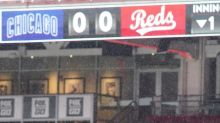 Final game of Cubs at Reds postponed because of rain