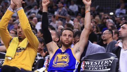 Warriors sweep Spurs to win West, enter third straight NBA Finals undefeated