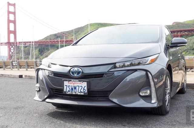 With the Prius Prime, Toyota delivers nearly the perfect tech car