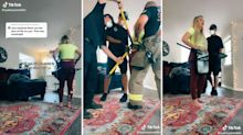 Firefighters rescue TikTok star after fetish video fail