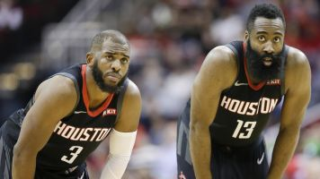 Harden downplays rumors of 'false' beef with CP3