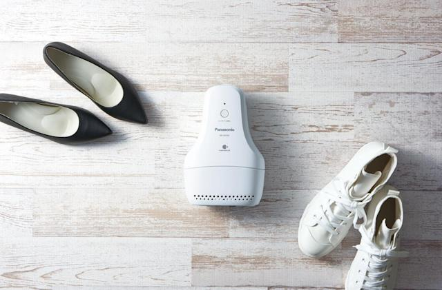 Panasonic's deodorizer freshens your shoes while you sleep