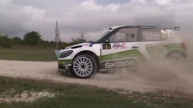 Jan Kopecky wins Croatia Rally and becomes European Rally champion
