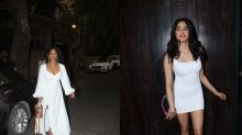 Masaba And Janhvi Kapoor Made A Strong Case For White Dresses