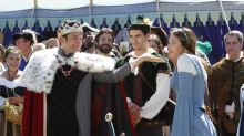 'Scorpion' heads to a Renaissance fair, and we're on set
