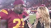 Trojan players talk about the win over the Cavs