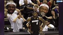James Carries Heat Past Spurs To Tie NBA Finals