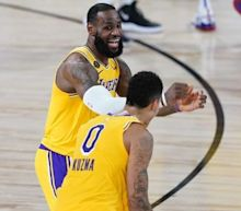 Kuzma's 3-pointer lifts Lakers to 124-121 win over Nuggets