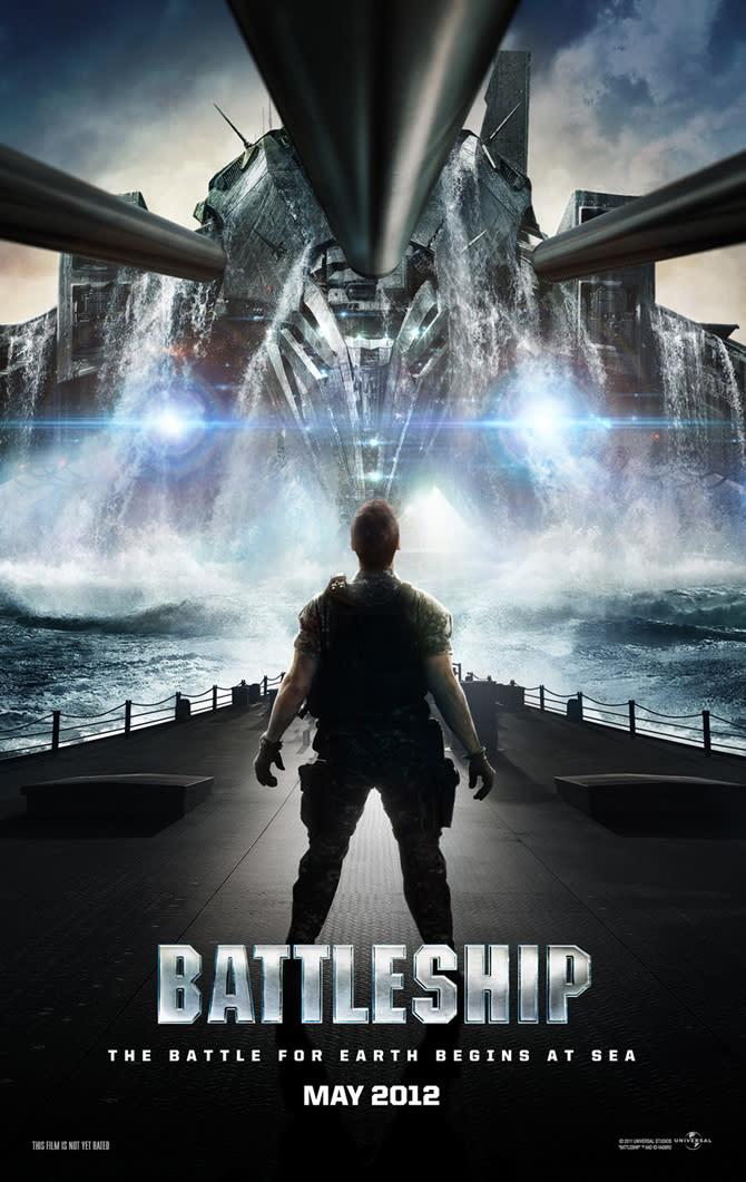 Film trailer: Taylor Kitsch and Rihanna in 'Battleship'
