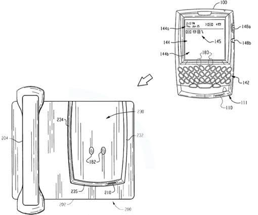 RIM patent application ponders a desk dock for your BlackBerry