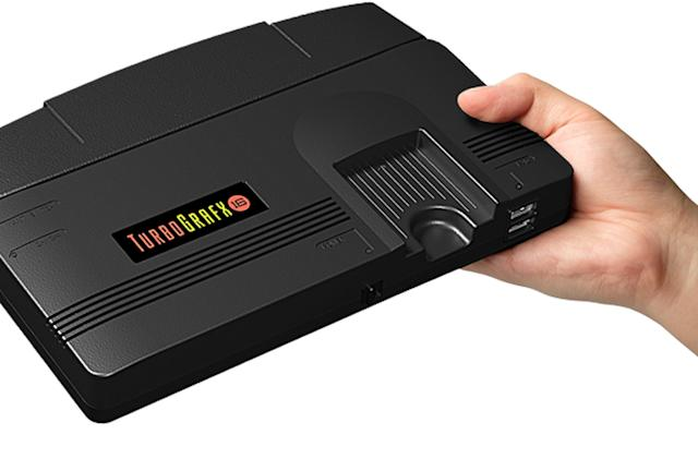 TurboGrafx-16 mini arrives next March with nearly 50 games