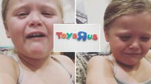 Little girl devastated by local Toys 'R' Us closure