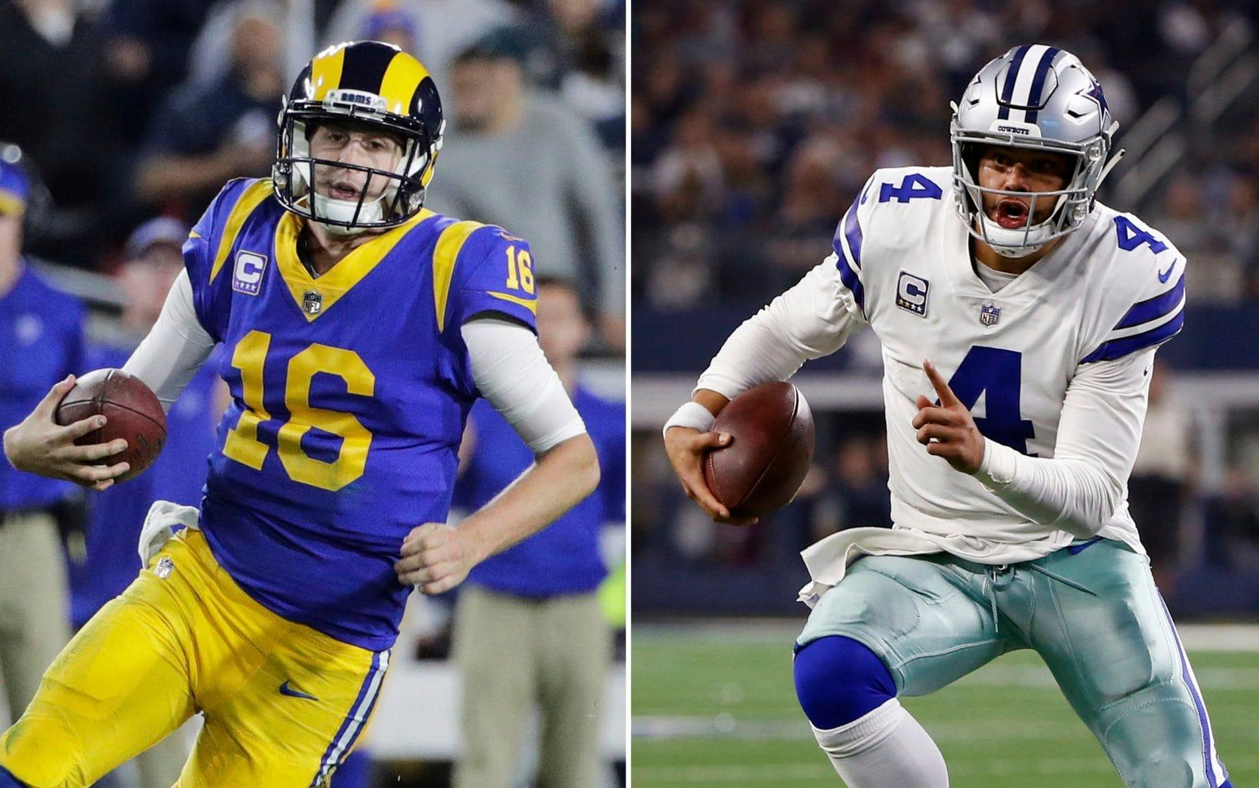 NFL playoffs divisional round preview: Its Luck v Mahomes in all star shootout, and why the Cowboys can upset the Rams