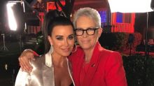 Jamie Lee Curtis Reunites With 'Halloween' Co-Star Kyle Richards 40 Years Later (Exclusive)