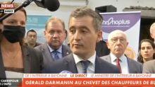 Gérald Darmanin : son message de fermeté après la mort du chauffeur de bus à Bayonne (vidéo)