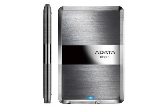 ADATA's got an 8.9mm thick portable USB 3.0 drive, limbos under the competition by .1 of a millimeter