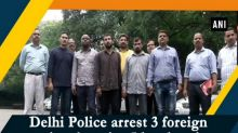 Delhi Police arrest 3 foreign nationals, seize 5 kgs heroin from them