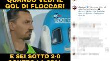 Pari del Milan contro la SPAL, ironia social
