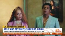 Jay-Z and Beyonce's surprise album