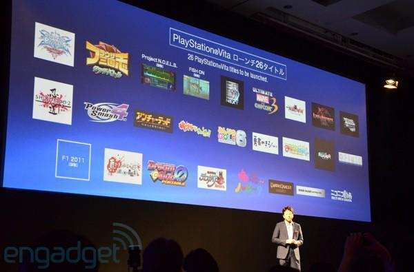 Sony announces bucketload of PlayStation Vita launch games, teases PSP downloads for UMD lovers