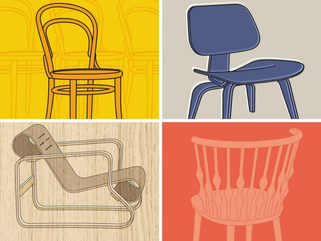 La historia detr s de las seis sillas m s famosas de la for Sillas famosas