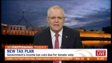 Government's income tax cuts due for Senate vote