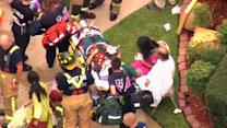 Dozens injured in Texas apartment collapse