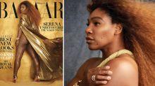 Serena Williams posa sin retoques y habla sobre el sexismo en el Open de Estados Unidos