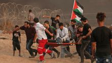 At least 130 Gazans hit by Israeli gunfire: Palestinian ministry