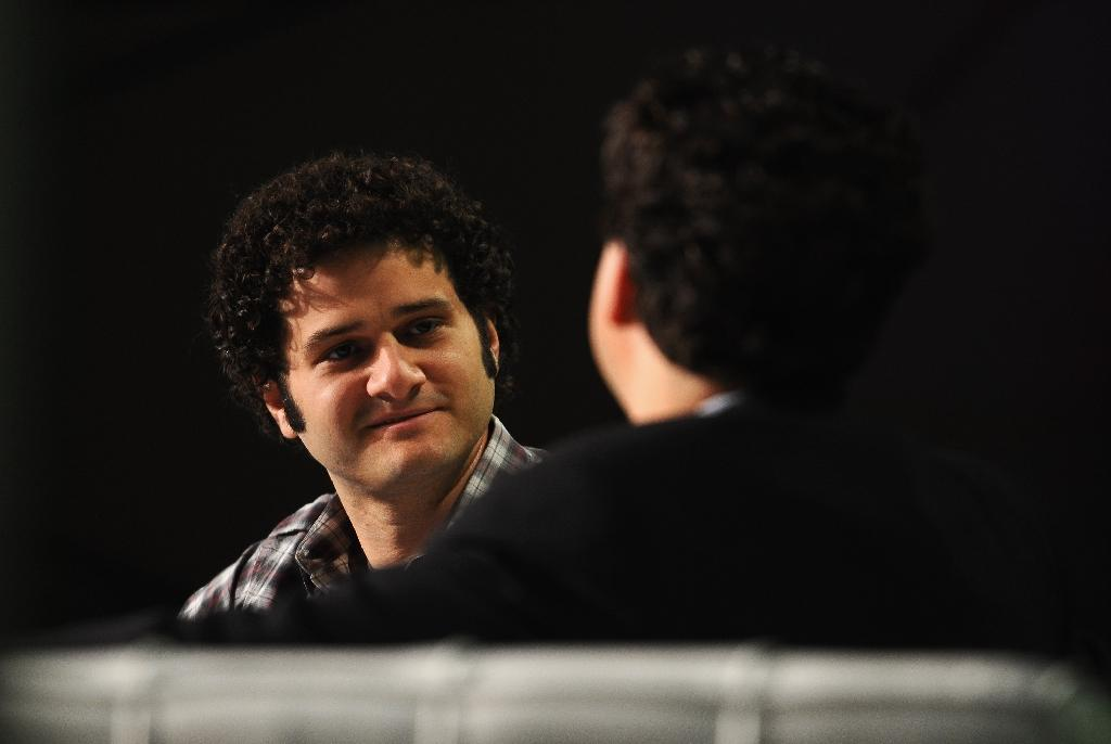 Facebook and Asana co-founder Dustin Moskovitz (L) is another to have publicly supported Hillary Clinton with a $20 million donation to Democratic causes (AFP Photo/Araya Diaz)