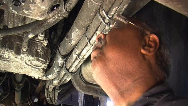 Mechanics working overtime to fix snow plows
